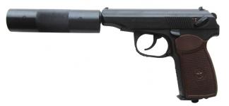 Пистолет МР-654К-22 (с фальшглушителем)
