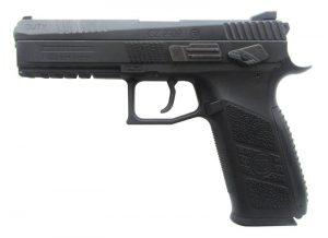 пистолет ASG CZ P-09 Duty Rifled Blowback