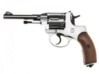Пневматический револьвер Gletcher NGT Silver