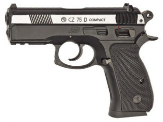 Пистолет ASG CZ 75 D Compact никель
