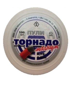 Пули торнадо магнум 0.78, 4.5 мм, 100 шт.