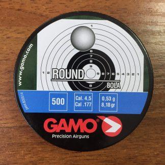 Фото 13 - Пули GAMO Round ВВ 4.5 мм, 500 шт..