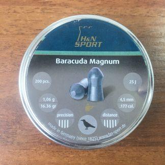 Фото 10 - Пули H&N Barracuda Magnum 4.5 мм, 200 шт..