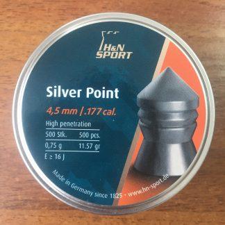 Фото 22 - Пули H&N Silver Point 4.5 мм, 500 шт..