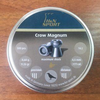 Фото 14 - Пули H&N Crow Magnum 4.5 мм, 500 шт..