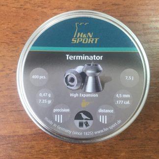 Фото 8 - Пули H&N Terminator 4.5 мм, 400 шт..