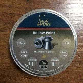 Фото 16 - Пули H&N Hollow Point 4.5 мм, 500 шт..