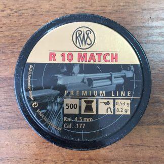 Фото 8 - Пули RWS R10 Match тяжелые 4.5 мм, 500 шт..