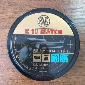 Фото 9 - Пули RWS R10 Match легкие 4.5 мм, 500 шт..