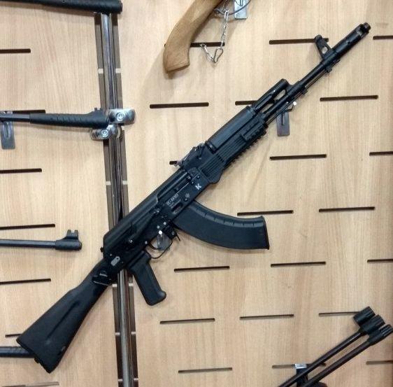 shp Поступление охолощенного оружия