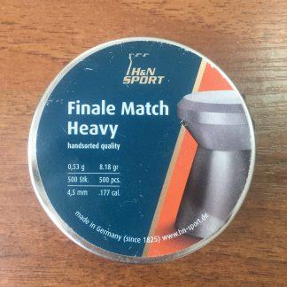 Фото 25 - Пули H&N Finale match heavy 4.5 мм, 500 шт..