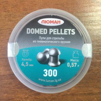 Фото 2 - Пули Люман Domed Pellets 4.5 мм, 300 шт..
