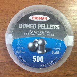Фото 9 - Пули Люман Domed Pellets 4.5 мм, 500 шт..