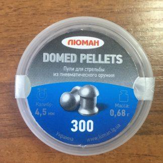 Фото 3 - Пули Люман Domed Pellets 4.5 мм, 300 шт..