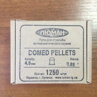 Фото 18 - Пули Люман Domed Pellets 4.5 мм, 1250 шт..