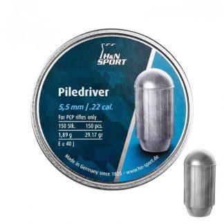 Фото 4 - Пули H&N Piledriver 5.5 мм / 1,89 г / 150 шт..
