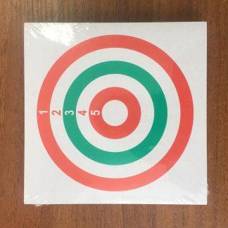 Фото 1 - Мишень картонная 14х14 см (50 шт) в ассортименте.