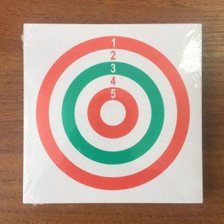 Фото 24 - Мишень картонная 14х14 см (50 шт) в ассортименте.